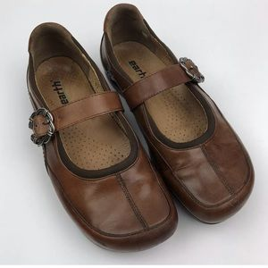 Earth Kalso Brown 7B Mary Jane Comfort Shoe for sale